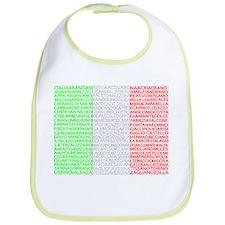Italian Cities Flag Bib