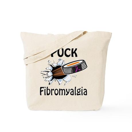Puck Fibromyalgia Tote Bag