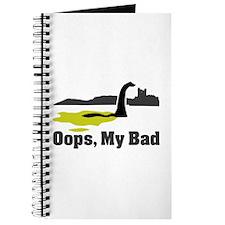 Oops, My Bad Journal