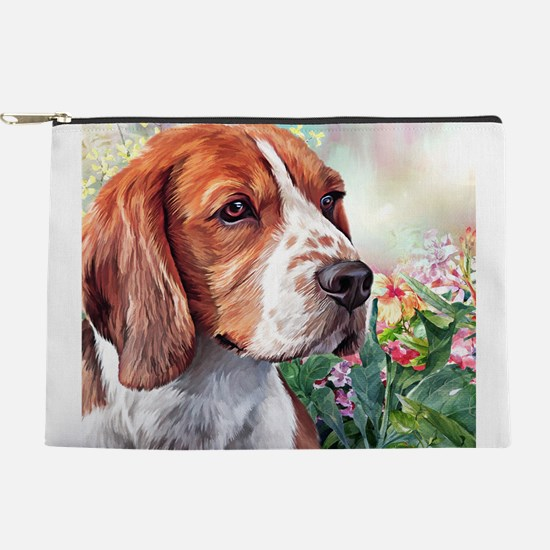 Beagle Painting Makeup Pouch