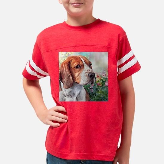Beagle Painting Youth Football Shirt