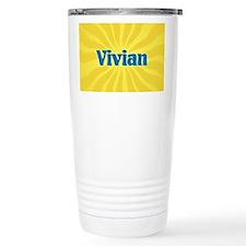 Vivian Sunburst Travel Mug