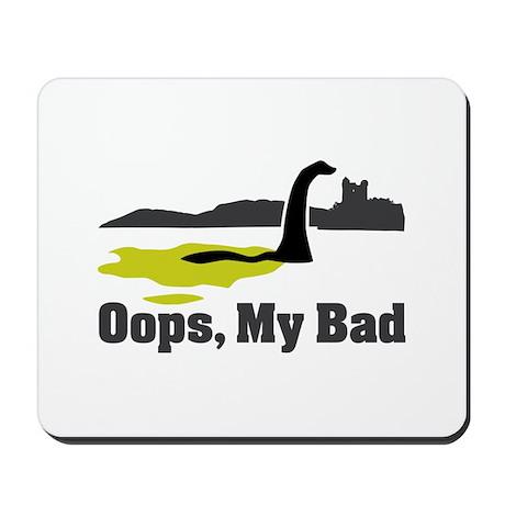 Oops, My Bad Mousepad