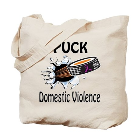 Puck Domestic Violence Tote Bag