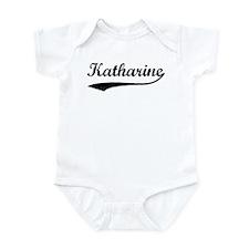 Vintage: Katharine Infant Bodysuit