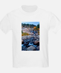 Rocky Mountain National Park Scenic Falls T-Shirt