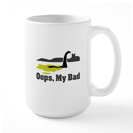 Oops, My Bad Large Mug
