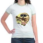 Hawaiian Pizza Jr. Ringer T-Shirt
