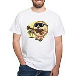 Hawaiian Pizza White T-Shirt