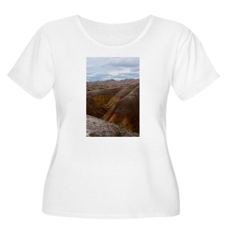 South Dakota Badlands Women's Plus Size Scoop Neck