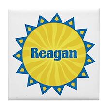 Reagan Sunburst Tile Coaster