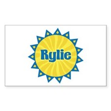 Rylie Sunburst Rectangle Decal