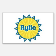 Rylie Sunburst Rectangle Decal