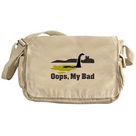 Oops, My Bad Messenger Bag