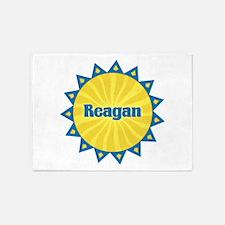 Reagan Sunburst 5'x7' Area Rug