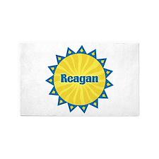 Reagan Sunburst 3'x 5' Area Rug