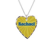Rachael Sunburst Necklace Heart Charm