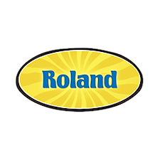 Roland Sunburst Patch