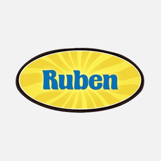 Ruben Sunburst Patch
