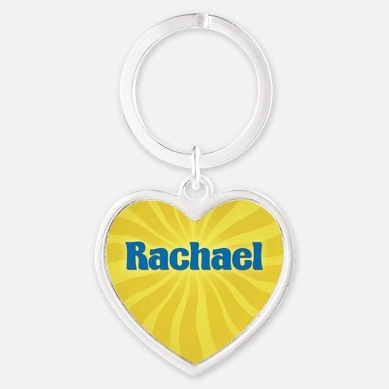 Rachael Sunburst Heart Keychain