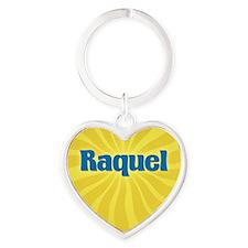Raquel Sunburst Heart Keychain