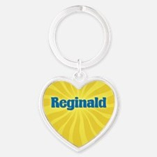 Reginald Sunburst Heart Keychain