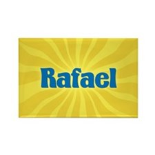 Rafael Sunburst Rectangle Magnet