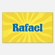 Rafael Sunburst Oval Decal