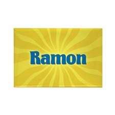 Ramon Sunburst Rectangle Magnet