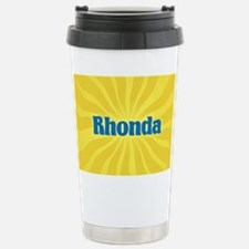 Rhonda Sunburst Travel Mug