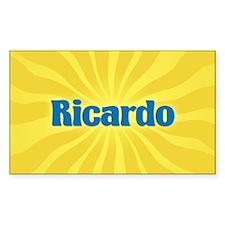 Ricardo Sunburst Oval Decal