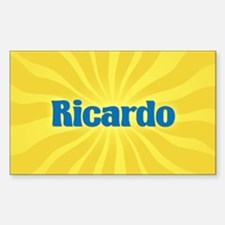 Ricardo Sunburst Oval Decal