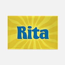 Rita Sunburst Rectangle Magnet