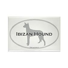 Ibizan Hound Rectangle Magnet