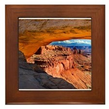 Mesa Arch Framed Tile