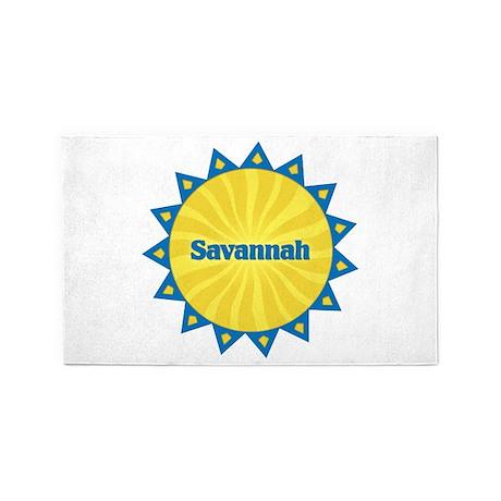 Savannah Sunburst 3'x 5' Area Rug