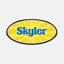 Skyler Sunburst Patch