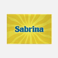 Sabrina Sunburst Rectangle Magnet