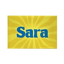 Sara Sunburst Rectangle Magnet