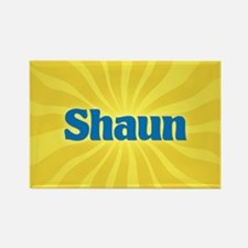 Shaun Sunburst Rectangle Magnet