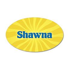 Shawna Sunburst Wall Decal