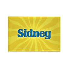Sidney Sunburst Rectangle Magnet