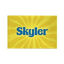 Skyler Sunburst Rectangle Magnet