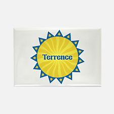 Terrence Sunburst Rectangle Magnet