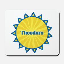 Theodore Sunburst Mousepad