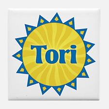 Tori Sunburst Tile Coaster