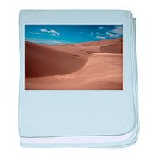 Colorado Sand Dunes baby blanket