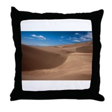 Colorado Sand Dunes Throw Pillow