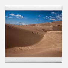 Colorado Sand Dunes Tile Coaster