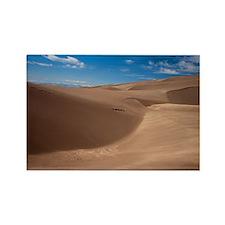 Colorado Sand Dunes Rectangle Magnet